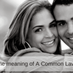 What is the meaning of a Common Law Spouse?